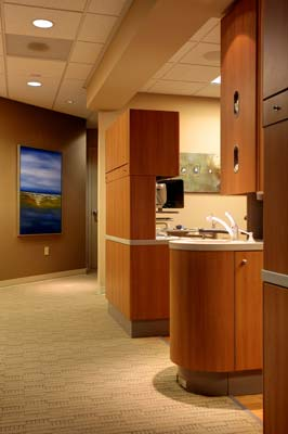 Precision Endodontics front office located in Everett WA